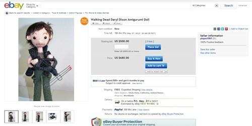 wtf The Walking Dead ebay - 7508179456