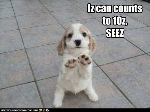 Iz can counts to 10z, SEEZ