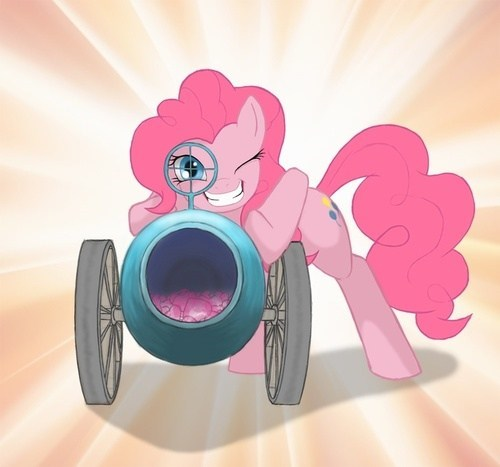 art party cannon pinkie pie funny - 7509689344