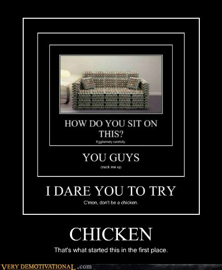 chicken pun couch egg funny - 7509884928