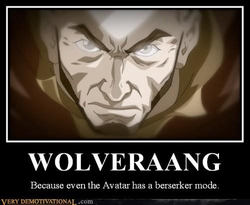 avatar last air bender aang wolverine funny - 7510136320