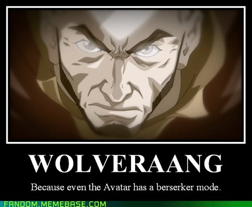 crossover Avatar the Last Airbender wolverine - 7510138112