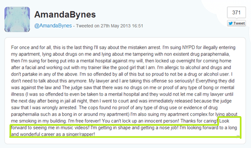 Music twitter Amanda Bynes FAIL amanda please - 7510246144