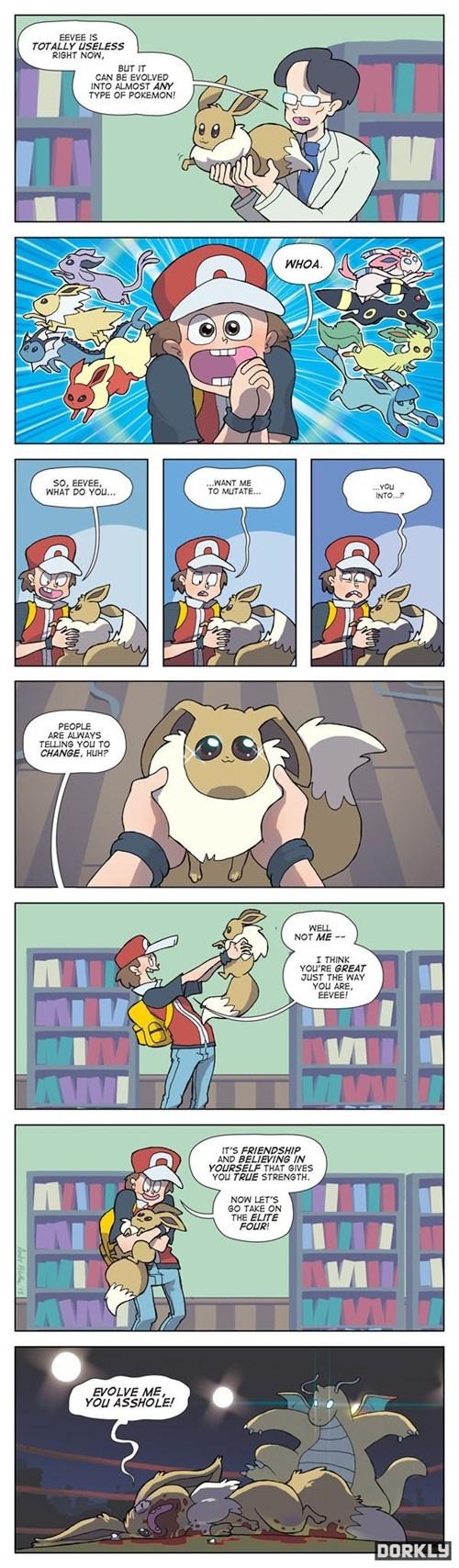Pokémon dorkly eeveelutions eevee funny - 7510399232