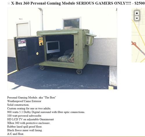 craigslist wtf gaming module funny - 7510416896