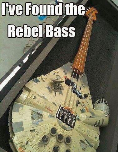 star wars puns bass funny rebel base - 7510447616
