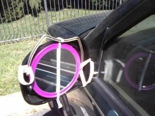 side mirror mirrors cars funny there I fixed it