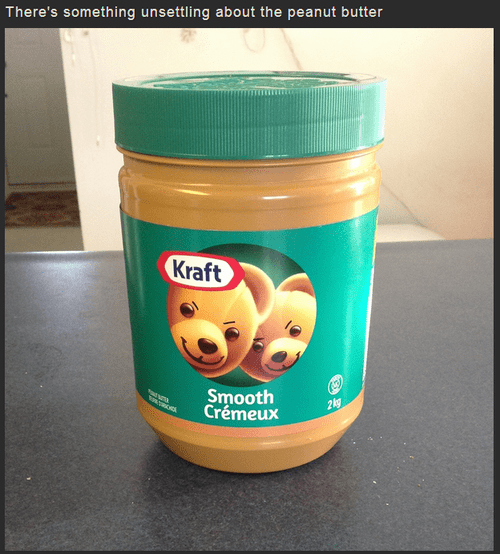 friendly bears kraft bears peanut butter bears peanut butter funny monday thru friday g rated - 7510677760