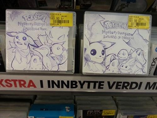 Pokémon IRL box art video games funny - 7510720256