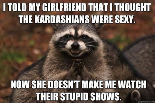 kardashians raccoon TV funny - 7510737408