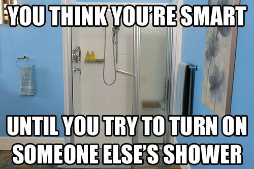 ur a genius,showers,funny