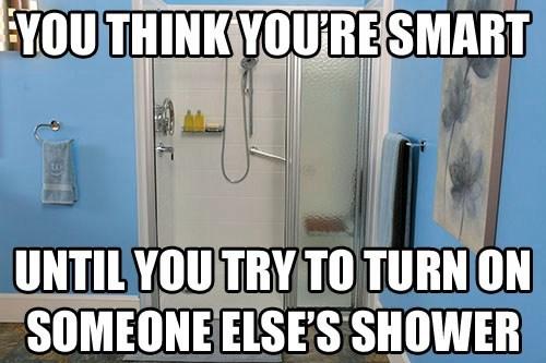 ur a genius showers funny - 7511153920