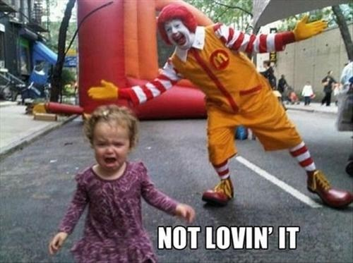 clowns,kids,phobias,funny
