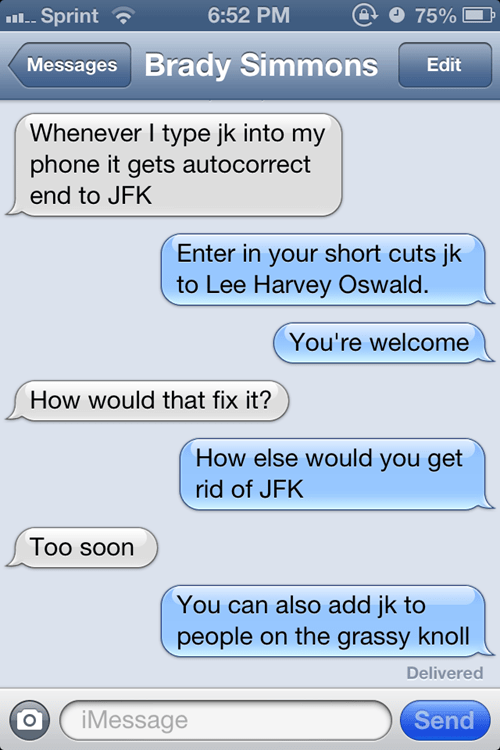 lee harvey oswald jfk assassination jfk funny AutocoWrecks - 7511316992