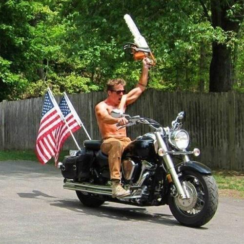 merica BAMF motorcycle funny - 7511443712