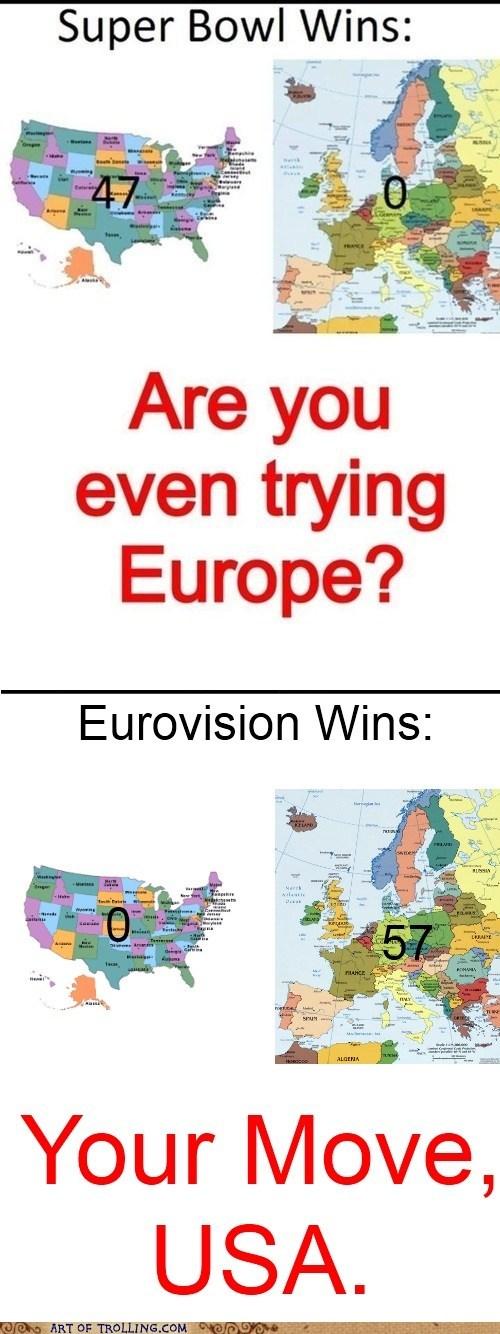 europe sports super bowl soccer america funny - 7513025024