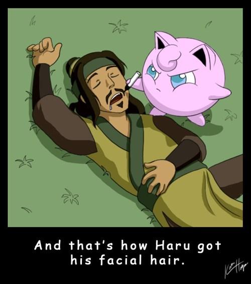 Pokémon jigglypuff haru Avatar funny - 7514275072