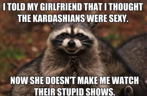 kardashians raccoon evil TV genius - 7514560000