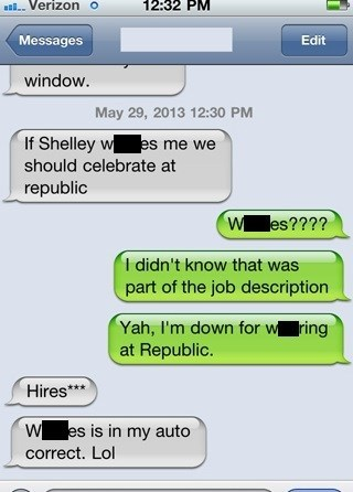new jobs,autocorrect,hired,funny