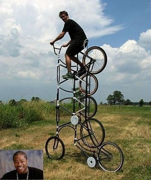 bicycle,wheels,funny