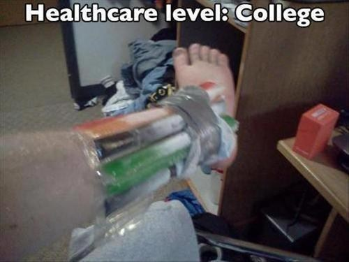 otterpops,healthcare,funny,college,g rated,there I fixed it