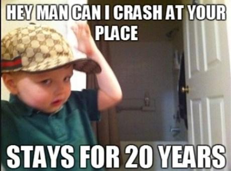 scumbag kids Scumbag Steve funny infants - 7515183616