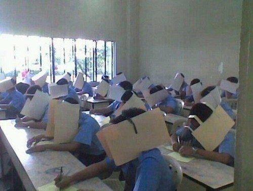 class cheating test funny - 7515261952
