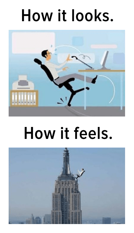 office chair,chairs,how it looks,how it feels,tipping over,funny,empire state building
