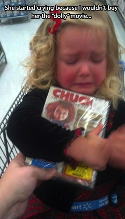 DVD g rated parenting Chucky