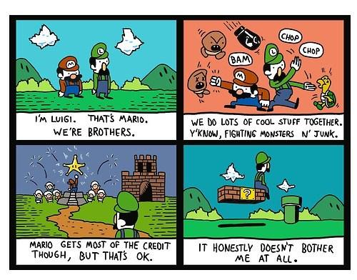 Sad comics luigi mario funny - 7515614464