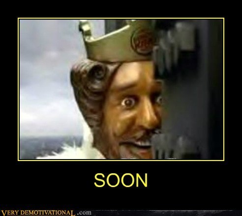 scary SOON burger king funny