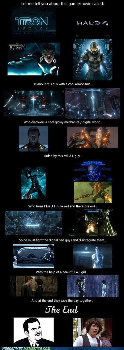 funny,Halo 4,tron