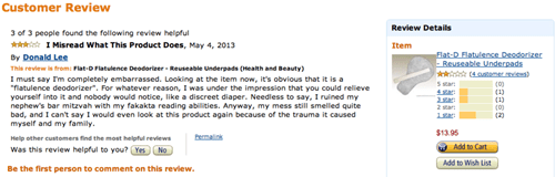 amazon whoops farts what product review funny - 7515897856