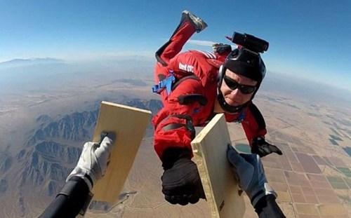 skydiving martial arts BAMF funny - 7515898624