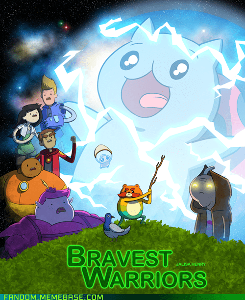 Fan Art cartoons bravest warriors - 7516159744