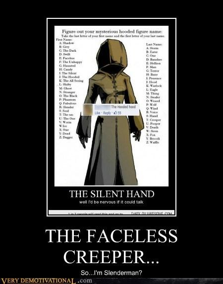 hood mysterious figure funny slenderman - 7516371712