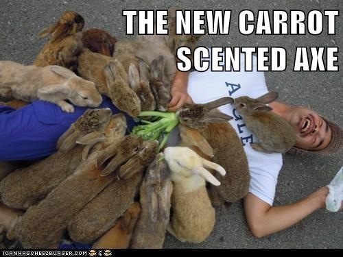 axe bunny funny carrots - 7516430592