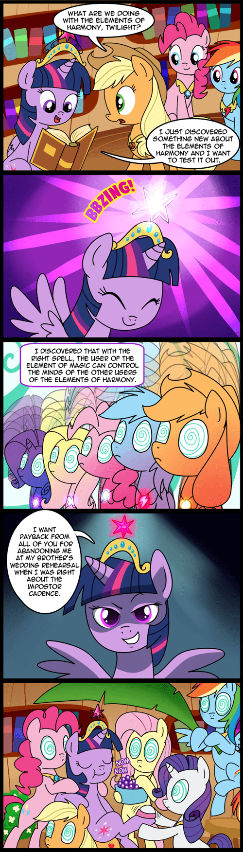 yes master twilight sparkle comics funny - 7516923136
