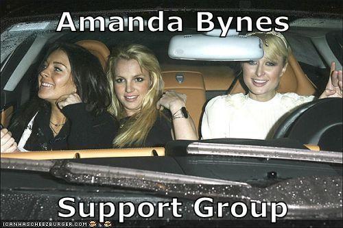Amanda Bynes paris hilton britney spears lindsay lohan - 7517460736