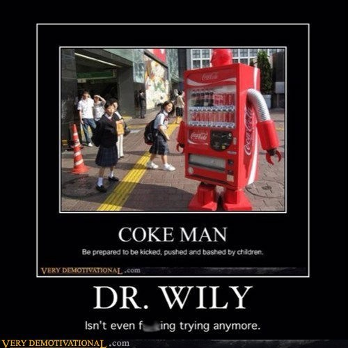dr-wily mega man vending machine funny