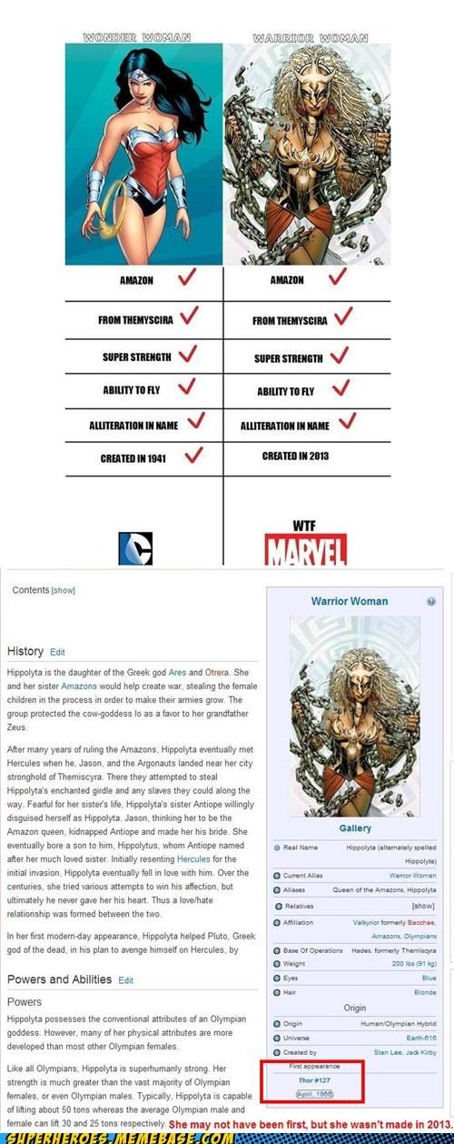 marvel wonder woman DC nerd cred warrior woman funny - 7518023936