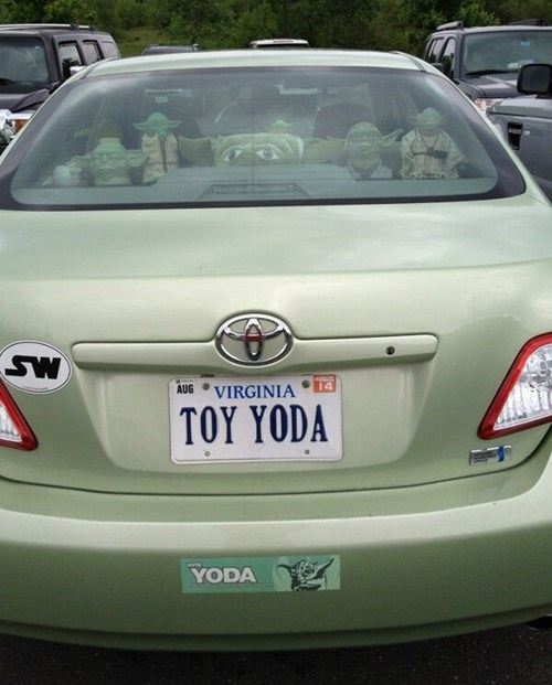 star wars cars yoda - 7518221312