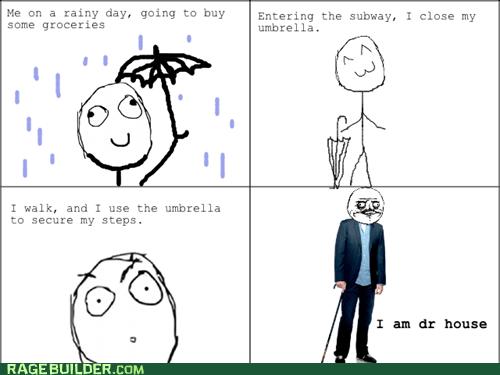 umbrella house me gusta funny - 7518249216