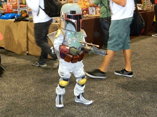 cosplay star wars kids cute boba fett - 7518307328