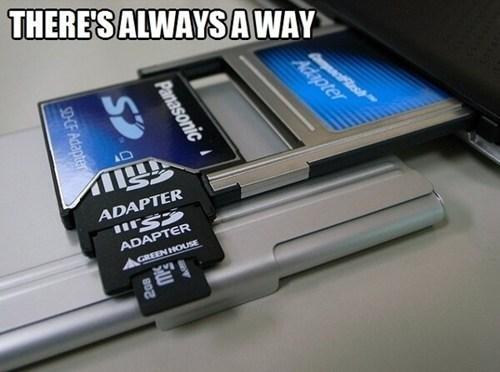 sd cards technology adapters funny monday thru friday g rated