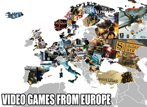 europe video games Maps - 7518428160