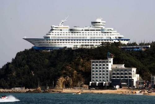 sun cruise hotel,cruise ship,hotel,south korea,funny,wat