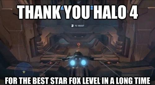 Star Fox funny Halo 4 - 7518465024