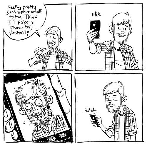 selfie,hard truths,funny