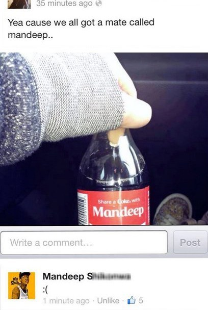 funny mandeep coca cola failbook g rated - 7518605824